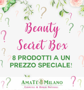 Beauty Secret Box - AmaTè Milano