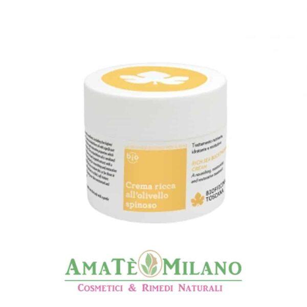 Crema Corpo all'Olivello Spinoso - Biofficina Toscana - AmateMilano