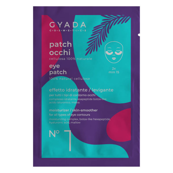 PATCH OCCHI IDRATANTI E LEVIGANTI N.1 - Gyada Cosmetics