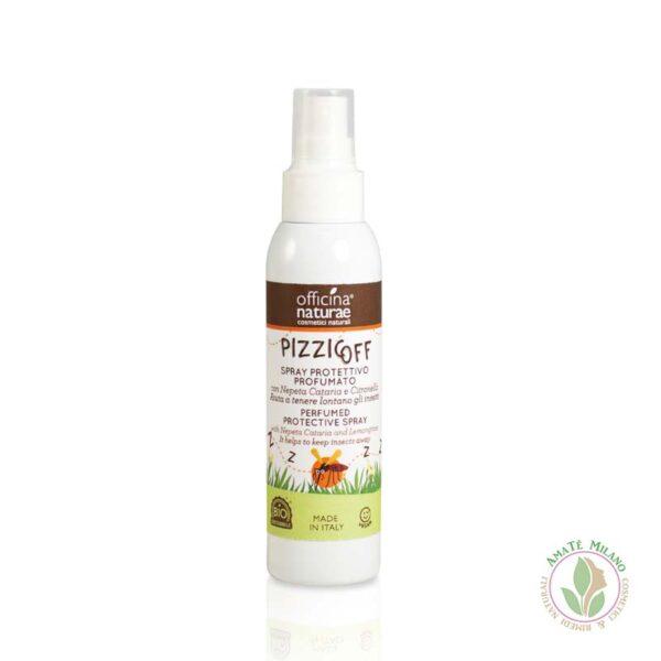 Pizzicoff Spray Protettivo Anti Zanzare Profumato - Officina Naturae