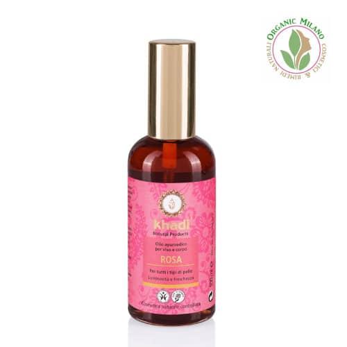 olio rosa khadi