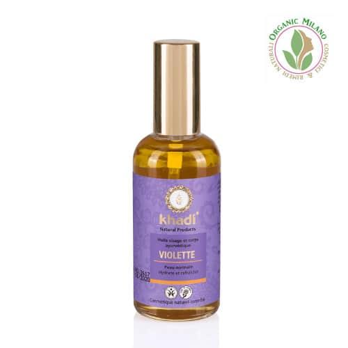olio viola khadi