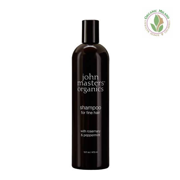 shampoo capelli fini John Masters Organics