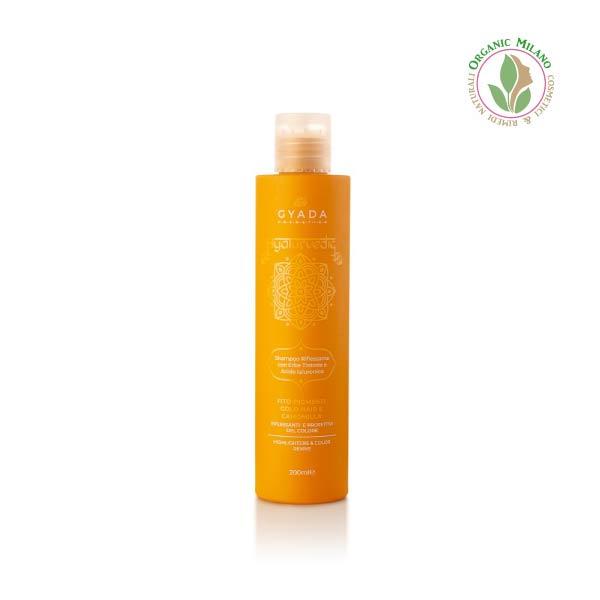 shampoo aiurvedico capelli chiari Gyada
