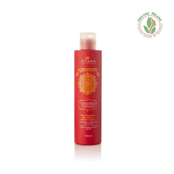 shampoo ayurvedico capelli rossi Gyada