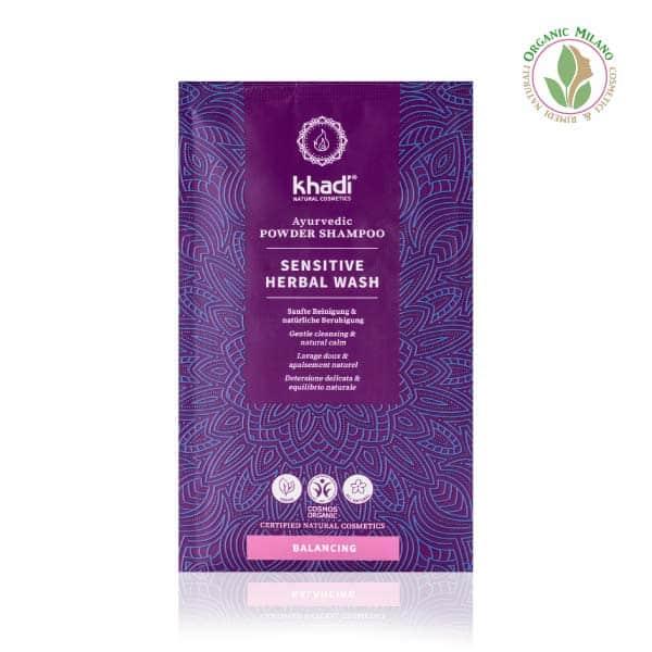 shampoo in polvere sensitive khadi