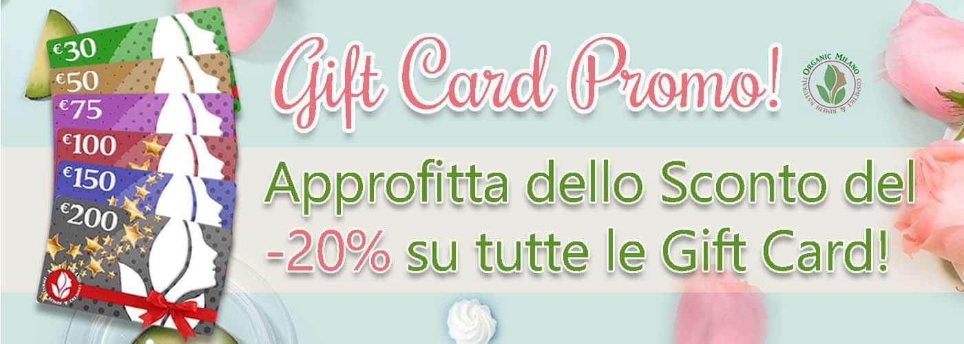 promo gift card organic beauty