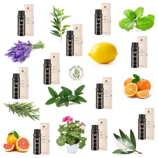 Oli essenziali eterea 10 ml - organic milano